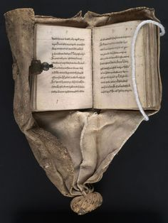 """Girdle (commonplace) book, 15th century.   """"Silva rerum they were called, commonplace books that contained a 'forest of things'. Excerpts of exceptional thought were dutifully copied into these bound books for further reflection and digestion. Commonplace books were considered necessary tools for learning that commonplacing was taught in universities such as Oxford. Milton, Hardy, Emerson, and Thoreau all kept their own commonplace books."""""""