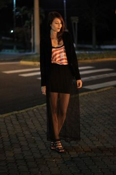 Skirt @Puramania <3 - http://mynameisglenn.wordpress.com/2012/08/06/look-all-night-long/
