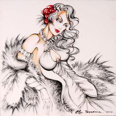 Gemälde: Künstlerin Elen Svedona   Kreativlösungen Prem mp@kreativloesungen.com