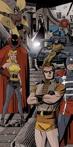 New Darwyn Cooke art!