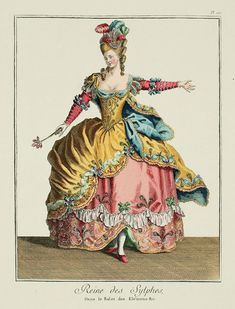 EKDuncan - My Fanciful Muse: Dancing Marie #2 - Fairy Queen of France