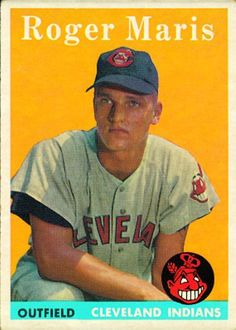 Roger Maris Rookie Card