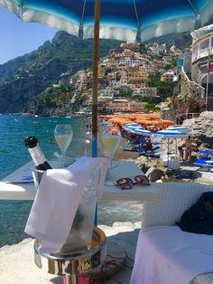 Prosecco in Positano! Amalfi Coast, Italy @sydhoff3
