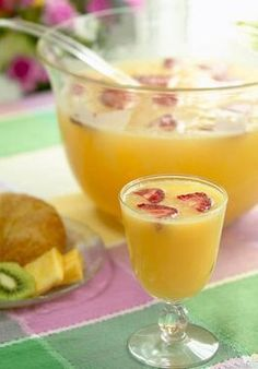 Mimosa Punch Recipe - Wedding Morning Drink