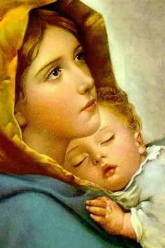 Catholic Art, Catholic Saints, Religious Art, Pictures Of Jesus Christ, Religious Pictures, Blessed Mother Mary, Blessed Virgin Mary, Jesus Mother, Mother Mary Pictures