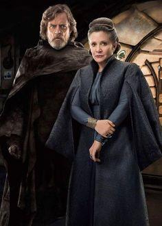 Star Wars The Last Jedi - Luke Skywalker and Princess Leia Organa Star Wars Film, Star Wars Fan Art, Star Wars Rebels, Star Trek, Theme Star Wars, Star Wars Pictures, Star Wars Images, Luke Skywalker, Stargate