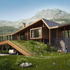 Проект виллы в Черногории