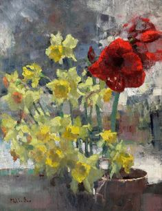 Flowers for Roland, 18 x 24 in., by Jim McVickers