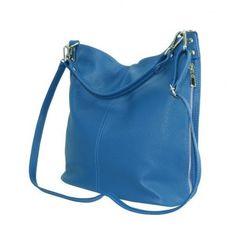 4f40336fa6 Ste na správnom mieste ak milujete veľkú modrú-bluette koženú taliansku  kabelku.  kabelky
