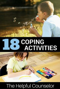 18 easy coping activities for kids and teens