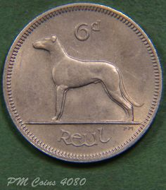 1969 Irish Ireland Sixpence EIRE Reul 6d Excellent coin  lot4080
