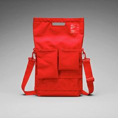 """Unit 01/02/03 Laptop Bag 13"""" Red, 69€, now featured on Fab."""