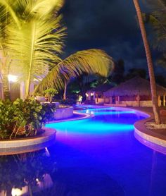 Nice shot of the peaceful evenings at Excellence Punta Cana. An #AllInclusiveLuxury #AdultsOnlyParadise.