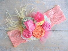 Couture Rosette Baby Headband