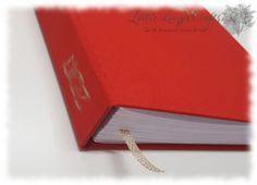 handgebundenes Buch Buchrücken