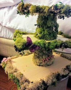Wedding Cakes - the must view dazzling pin tip number 5101903310 Rustic Cake Stands, Wedding Cake Stands, Diy Wedding Cake, Wedding Decorations, Wedding Ideas, Fairy Birthday Party, Garden Birthday, Birthday Cake, Forest Wedding