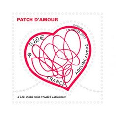 Timbres ...  Adeline André, patch d'amour