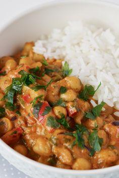 Curry de grão de bico | Flamboesa