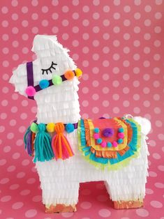 Diy Pinata Discover One Llama piñata centerpiece llama party llama birthday decor llama bachelorette llama baby shower alpaca party Valentines Box Llama piñata centerpiece llama party llama birthday 2nd Birthday Parties, Diy Birthday, Birthday Party Decorations, Fiesta Party Decorations, Card Birthday, Birthday Quotes, Birthday Ideas, Birthday Gifts, Mexican Birthday