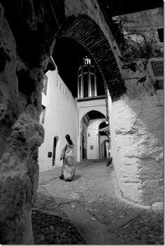 Exposición de fotografía, Blanco Riad, Tetuán, Marruecos (Maroc, Morocco)