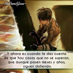 Y ahora es #ShuOumaGcrow #Anime #Frases_anime #frases