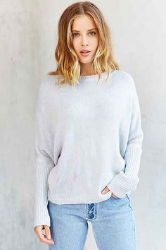 a3e40287259 Olive  amp  Oak Basic Dolman Sweater - Urban Outfitters Olives