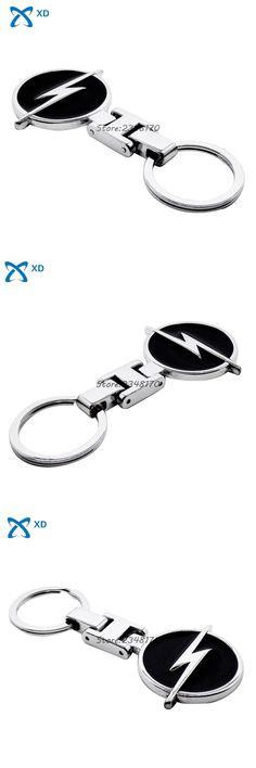 [Visit to Buy] Key Ring Key Chain Holder Car Accessories For Opel Insignia Astra Corsa Mokka Car Logo Badge Keychain Keyring Metal Key Chain #Advertisement