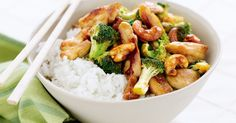 If you're short on time, this chicken stir fry can be whipped up in just 25 minutes.