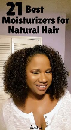 The 21 Best Moisturizers for Natural Hair: Get Soft Long-Lasting Curls The 21 best moisturizers for natural hair. If you suffer from dry natural hair, try one of these moisturizing natural hair products and learn how to properly moisturize natural hair. Cabelo Natural 4c, Natural Haircare, Natural Hair Tips, Natural Hair Growth, Natural Curls, Natural Hair Styles, Best Natural Hair Products, Dry Hair Products, Fine Natural Hair