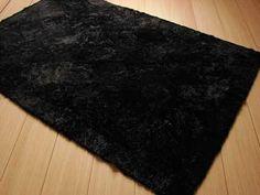 35 ideas bedroom black rug interior design for 2019 Diy Living Room Decor, Bedroom Decor, Design Bedroom, Bedroom Ideas, Bedroom Wallpaper Teenage, Fluffy Rugs Bedroom, Black Interior Design, Interior Paint, Interior Ideas