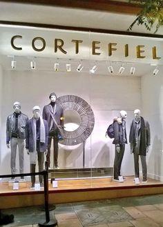 Uno de los escaparates de la nueva flagship store de Madrid. C/Goya 29.
