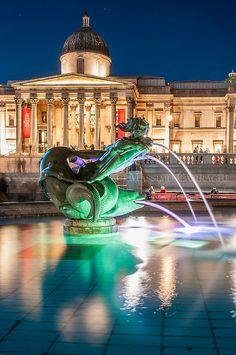 London - Trafalgar Square, London