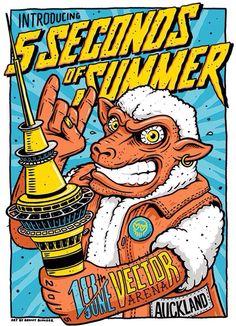 Auckland #5SOS