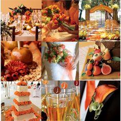 Orange Wedding by KatL368 on Polyvorecom Find this blog interesting