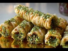 BAKLAVA is a rich sweet delicious phyllo pastry popular in Middle Eastern countries. In baklava, layers of crisp phyllo dough filled with chopped nuts , . Lebanese Recipes, Turkish Recipes, Greek Recipes, Ethnic Recipes, Persian Recipes, Scottish Recipes, Baklava Dessert, Turkish Baklava, Greek Pastries