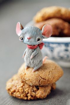 Cute Polymer Clay OOAK Art Toys By Anna Nazarenko | Страшно милые: причудливые игрушки Анны Назаренко