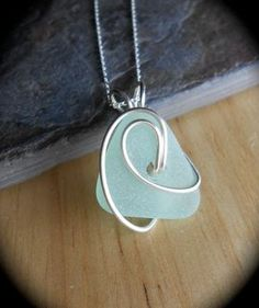 Ride The Wave Genuine Sea Glass Jewelry by SeaFindDesigns, $20.00