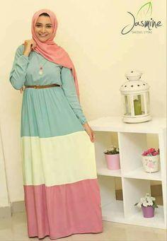 Abaya Fashion, Modest Fashion, Fashion Dresses, Hijab Dress, Hijab Outfit, Muslim Girls, Muslim Women, Moslem Fashion, Abaya Designs