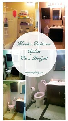 When I bought my house, one of the major downfalls was that the Master bathroom was extremely small!  I quickly looked the other way though as I was delighted to have a walk in closet in two bedrooms and that the laundry is upstairs between all of the bedrooms. After living with the small bathroom, …