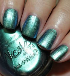 Nicole by OPI Emerald Empowered is this a #Chanel Azure Dupe??