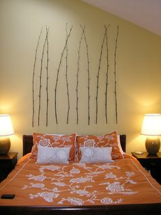 15 Best and Easy DIY Wall Art Ideas.. these are so cool for the bedroom