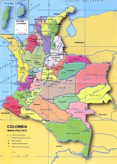 COLOMBIA |||||||||| BARRANQUILLA - UBICACION DE BARRANQUILLA EN COLOMBIA.
