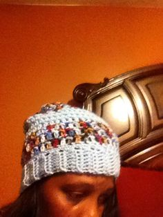 Slouchy to Skully Hat on Etsy, $17.00