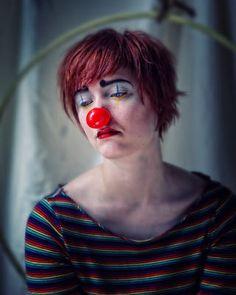 Clown triste Miche Feugeas