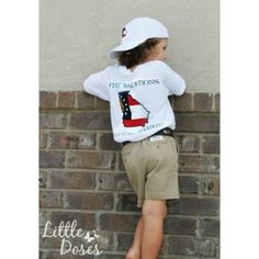 Youth State Traditions Tee - now available online! www.walkerboutique.com