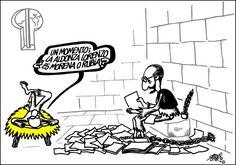 Viñeta de Forges sobre Cervantes