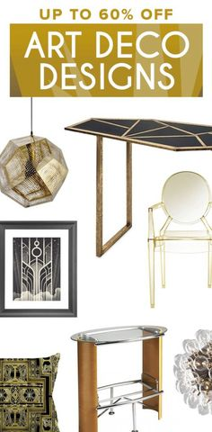 Art Deco Furniture & Décor | Up to 60% Off ==