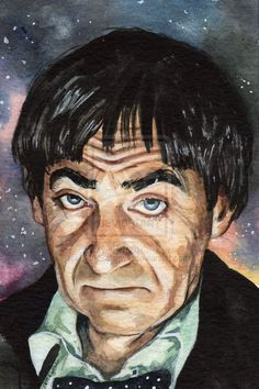 Doctor Who Patrick Troughton by MarkSatchwill.deviantart.com