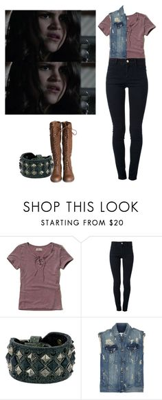 """""""Hayden Romero - tw / teen wolf"""" by shadyannon ❤ liked on Polyvore featuring Hollister Co., STELLA McCARTNEY, Frye and Pierre Balmain"""