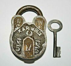 Padlocks, Lock Up, Keys, Carving, Brass, Personalized Items, Nice, Ebay, Vintage